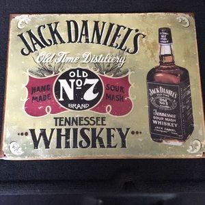Jack Daniels Metal Sign